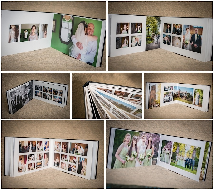 18x10 duo wedding Albums