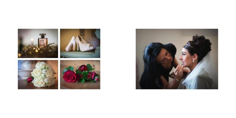 wedding albums by Samantha Brown Photography cara 1