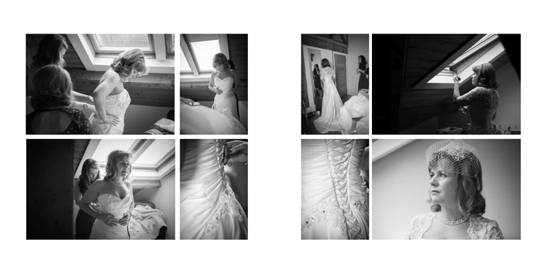 wedding albums by Samantha Brown Photography AC2