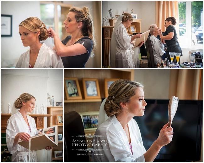 Bridal make up - photography by Samantha brown
