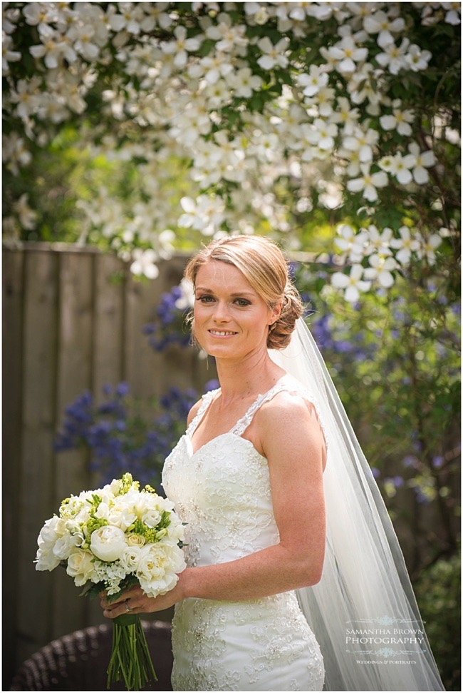 Bride before her wedding - photography by Samantha brown