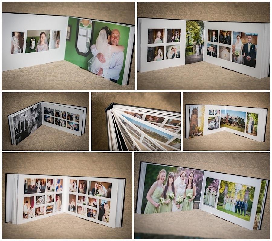 18x10 duo wedding Albums