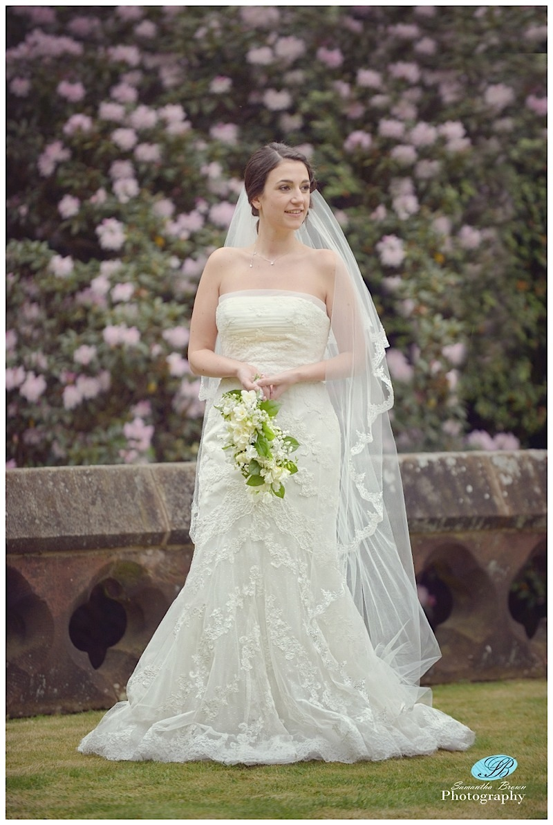 Hinderton Hall Gardens wedding photography