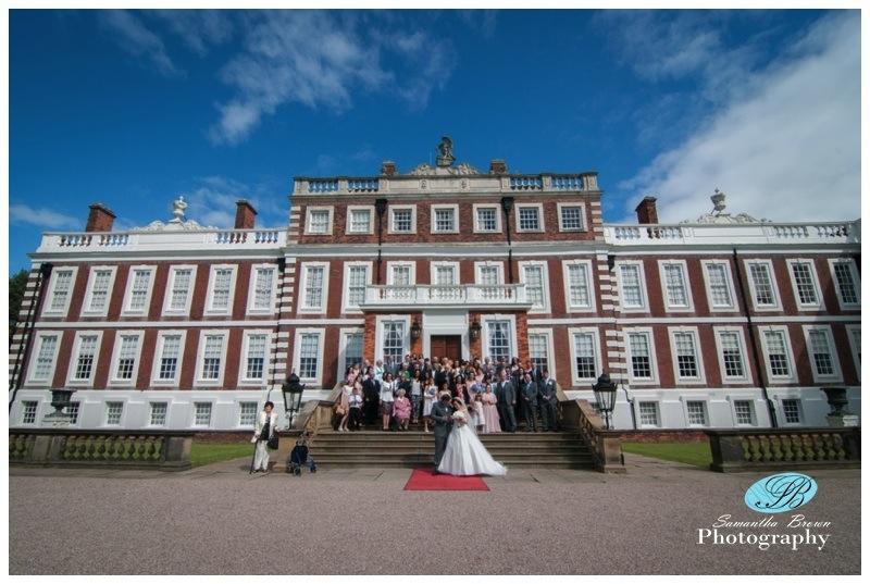 Sarah and Adams Wedding Knowsley Hall