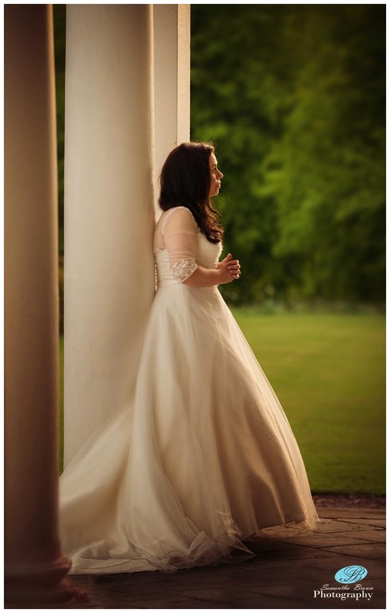 Sarah  Wedding Knowsley Hall