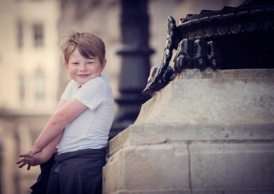 boy in liverpool laughing