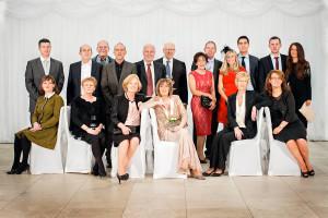 family group shot of 18 people at the Isla gladstone Liverpool by Samantha Brown Photography
