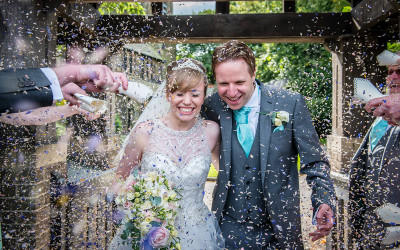 Eleanor and Rob's Heskin Hall Wedding