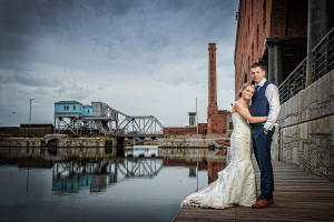 couples at Titanic Hotel by Samantha Brown Photography