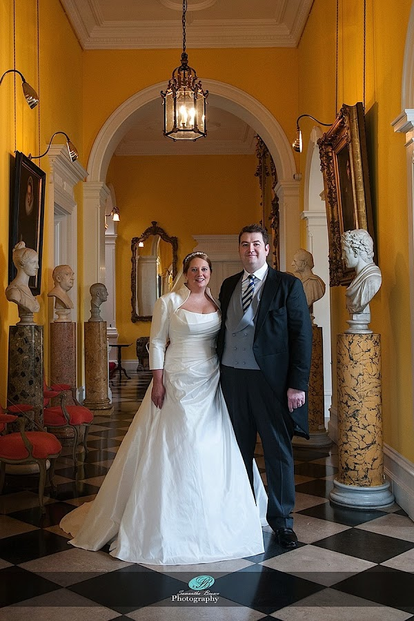 Capesthorne Hall Weddings bride and groom