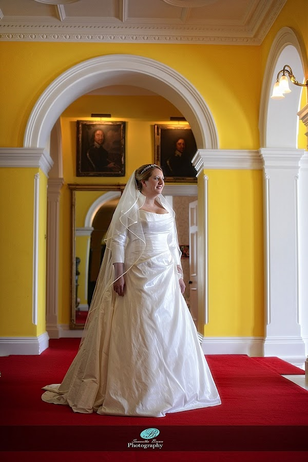 Capesthorne Hall Weddings Bride