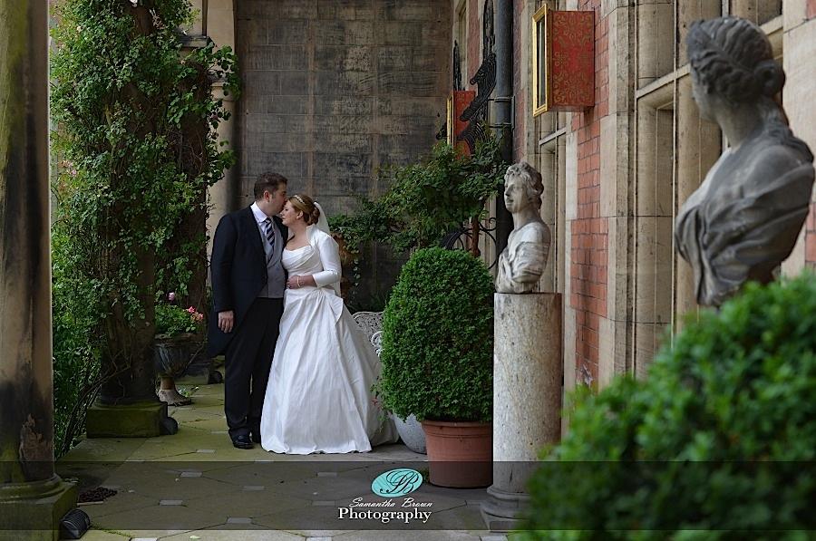 Capesthorne Hall Weddings romance