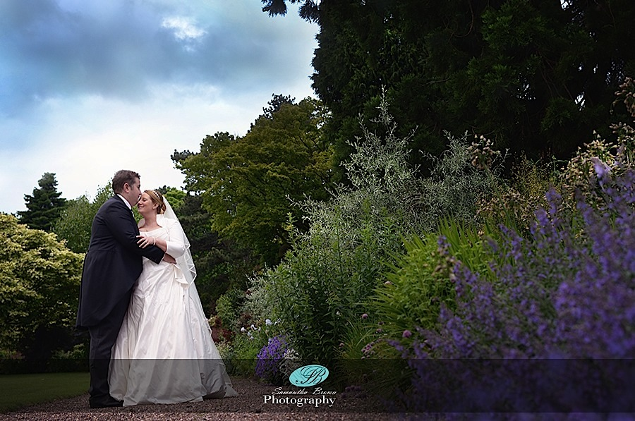 Capesthorne Hall Weddings Gardens