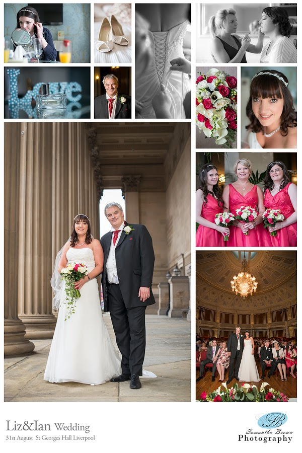 Wedding at St Georges Hall