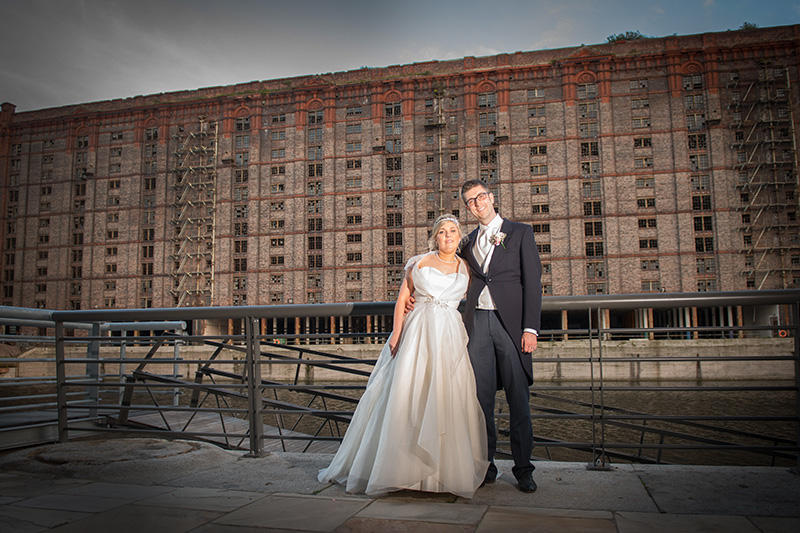 Lynsey & Dave's wedding Titanic Hotel Liverpool