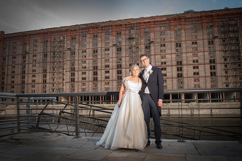 Lynsey & Dave's wedding Titanic Hotel Liverpool