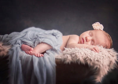 sleeping baby portrait by Samantha Brown Photography