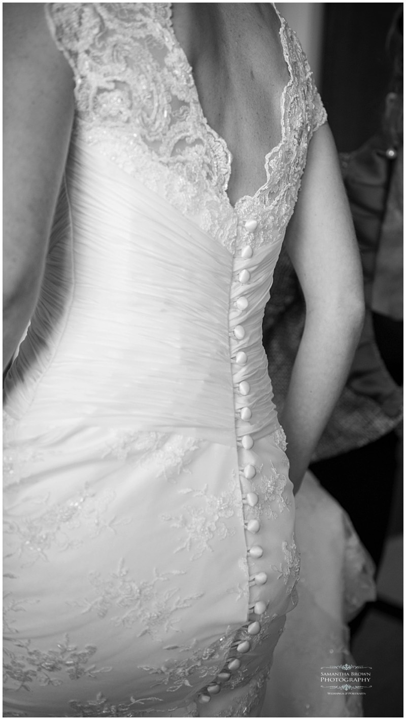 detail of wedding dress by Samantha Brown_0188