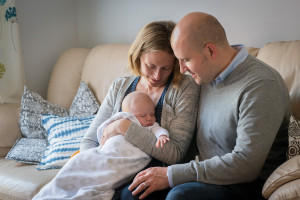 mum, dad and baby by samantha brown photography