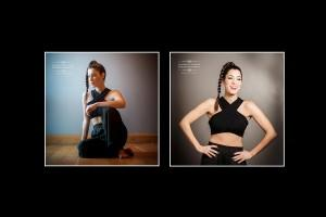 portraits for a singers CD cover