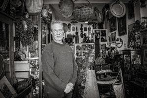 portrait of Steve antiques dealer in Waterloo by Samantha Brown Photography