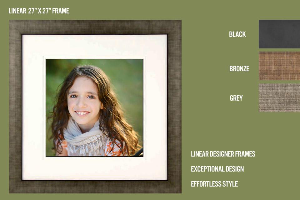 Linear Grey Frame