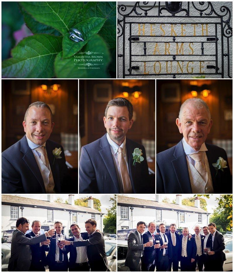 Nic & Si's Meols Hall Wedding, at Hesketh arms by Samantha Brown Photography