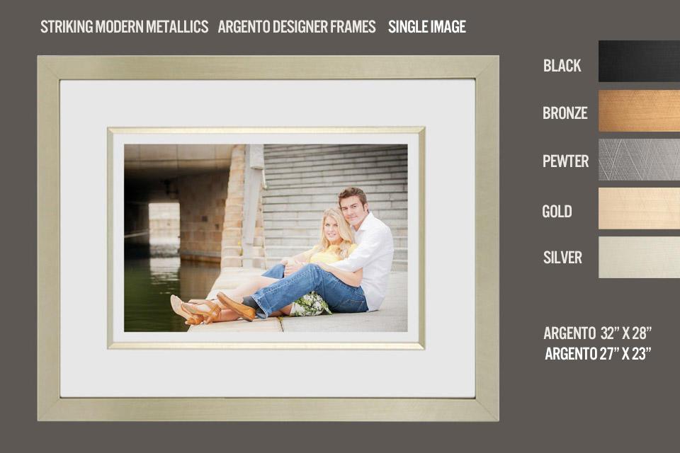 Argento Gold Frame