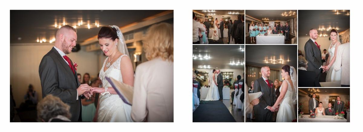 Exchange rings at the Vincent - By Samantha Brown Photography