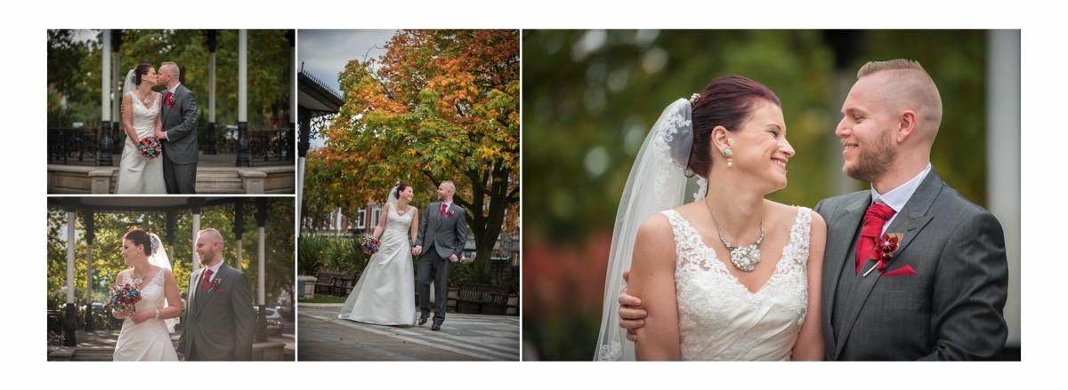 Happy Couple outside the Vincent - By Samantha Brown Photography