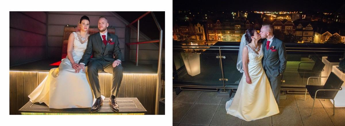 Couple at the Vincent in Penthouse - By Samantha Brown Photography