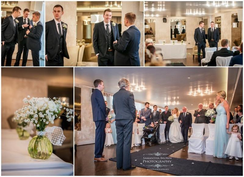Tracy & Ben's Wedding ceremony Vincent Hotel by Samantha Brown Photography