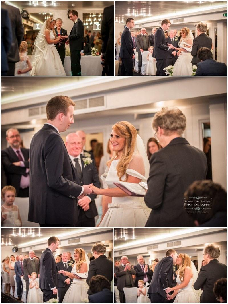 Tracy & Ben's Wedding Vincent Hotel by Samantha Brown Photography