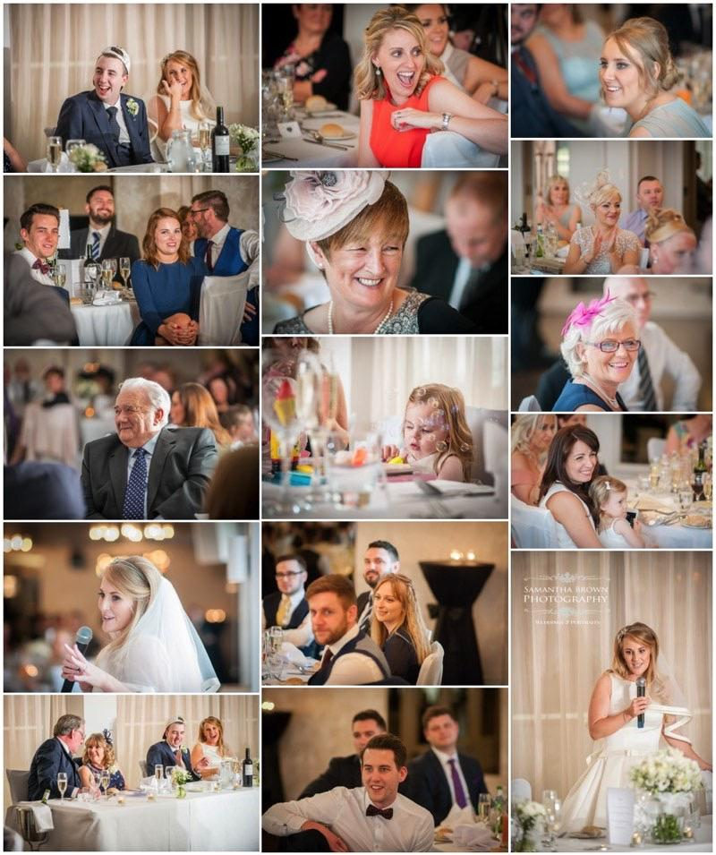 Tracy & Ben's Wedding Speeches Vincent Hotel by Samantha Brown Photography