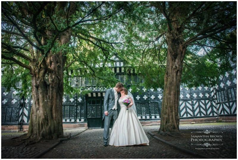 Laura & Mike's Speke Hall Wedding Yew Trees by Samantha Brown Photography_0022
