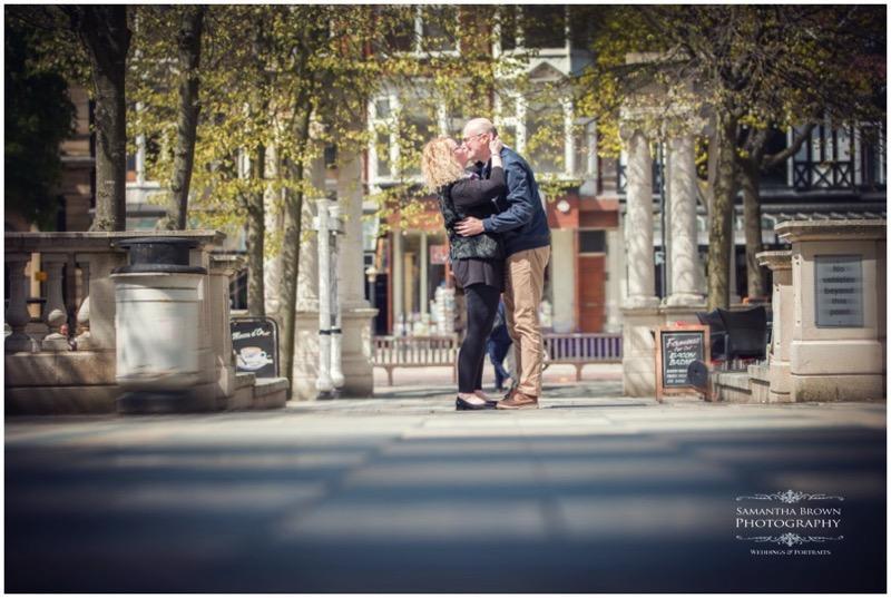 Annie & Alastair's Pre Wedding Shoot Southport