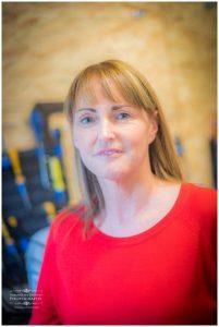 portrait of female upholsterer in Liverpool