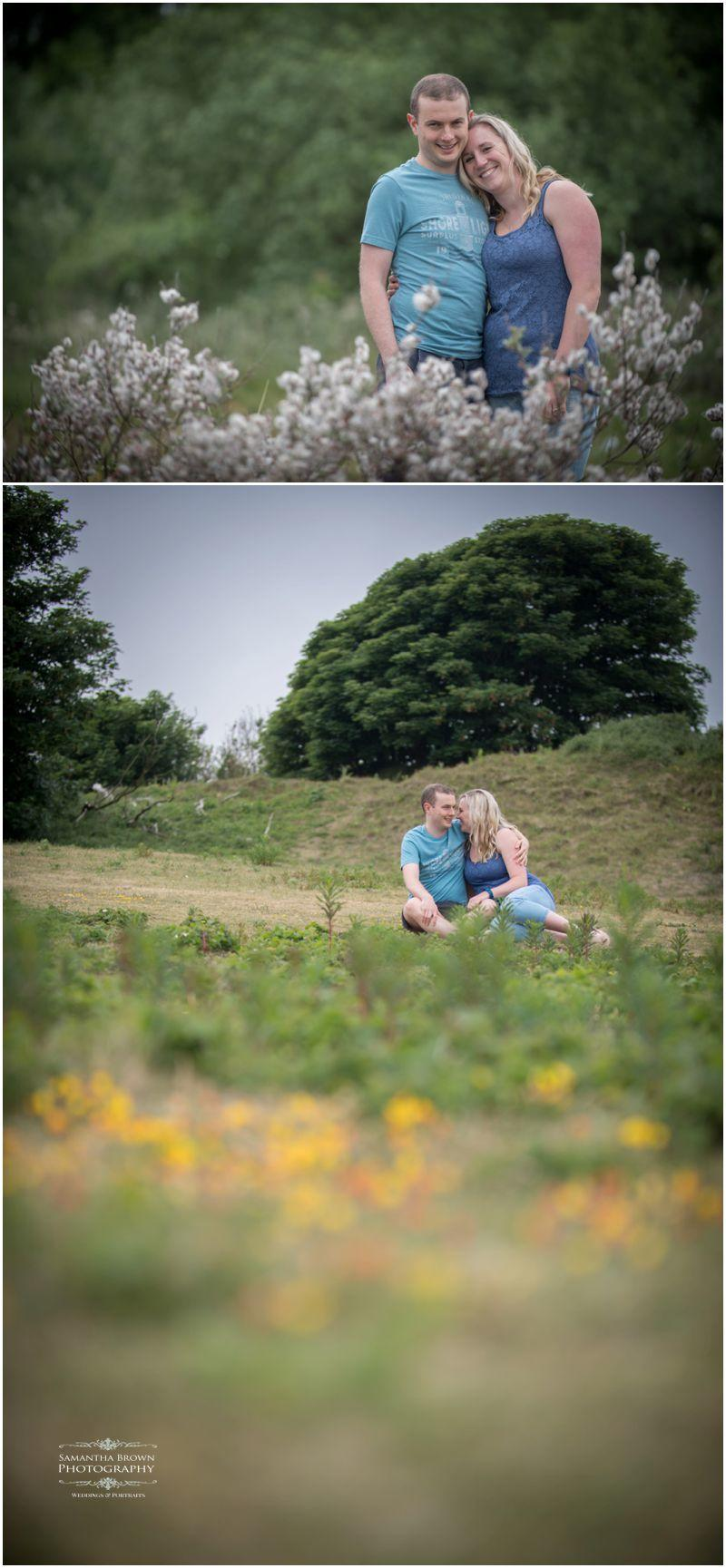 Claire and Andy's pre wedding shoot