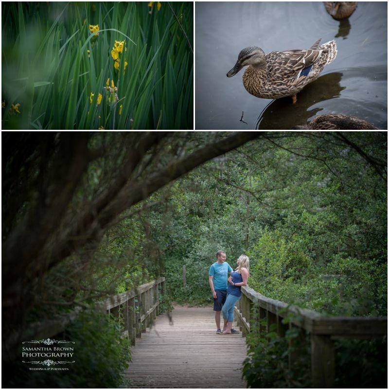 Pre wedding shoot at Formby woods by Samantha Brown Photography