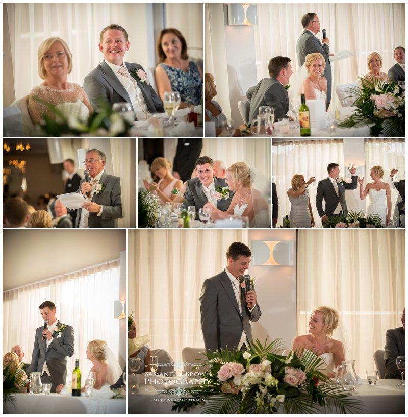 Steph & Geoff's Wedding Vincent Hotel Speeches