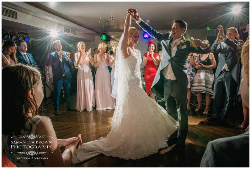 Steph & Geoff's Wedding Vincent Hotel First Dance