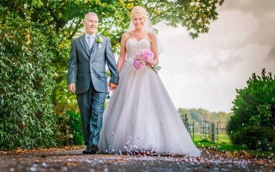Lathom Chapel Wedding