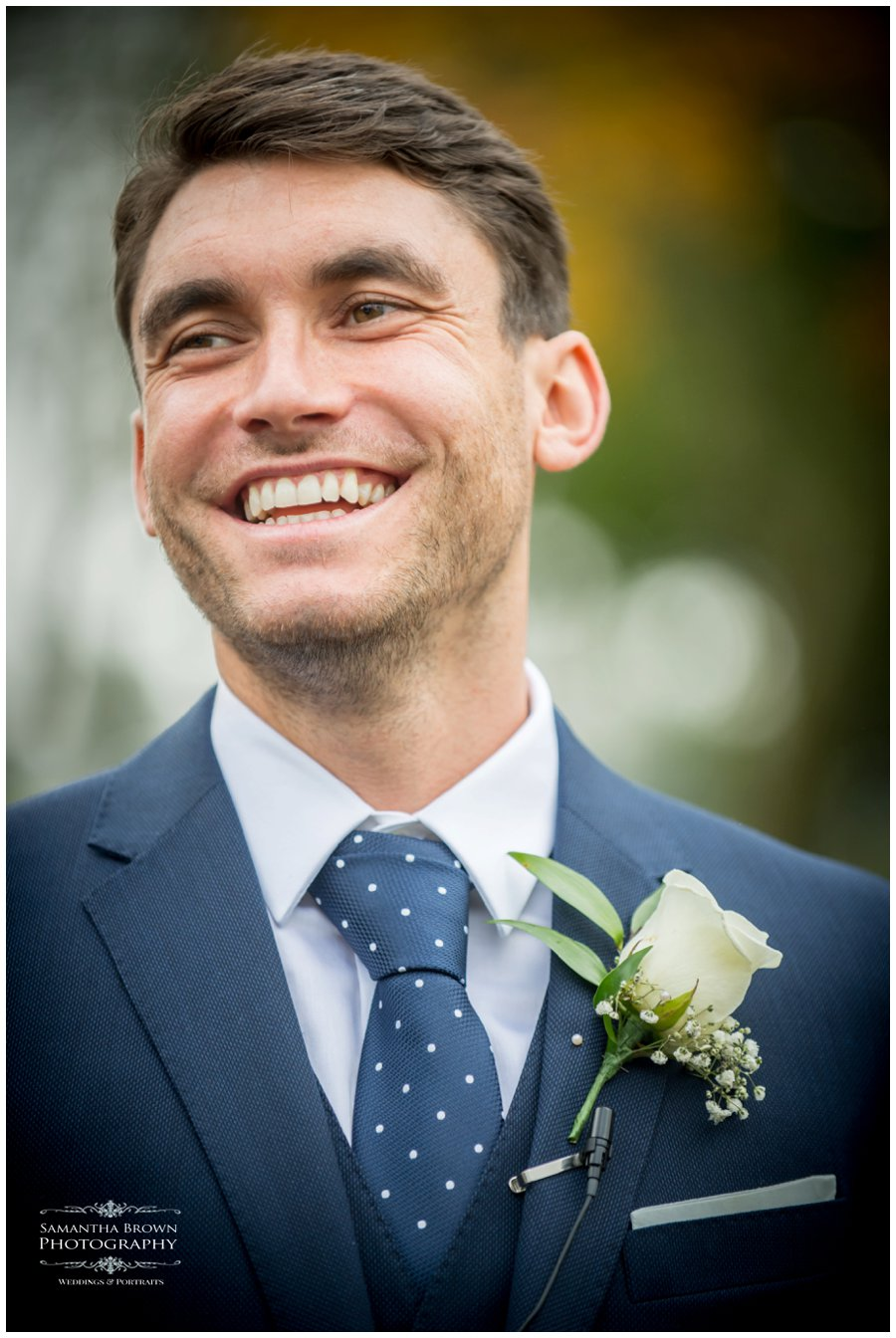 Groom at Colshaw Hall