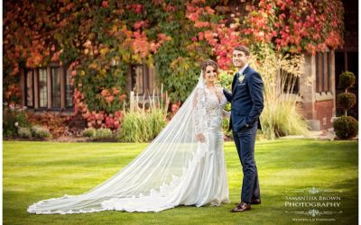 Colshaw Hall Wedding, Ryan and Jen