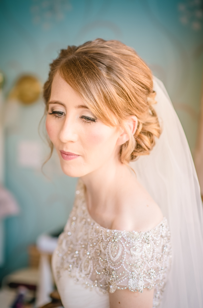 Sleeklens Kaleidascope preset applied to image of a bride