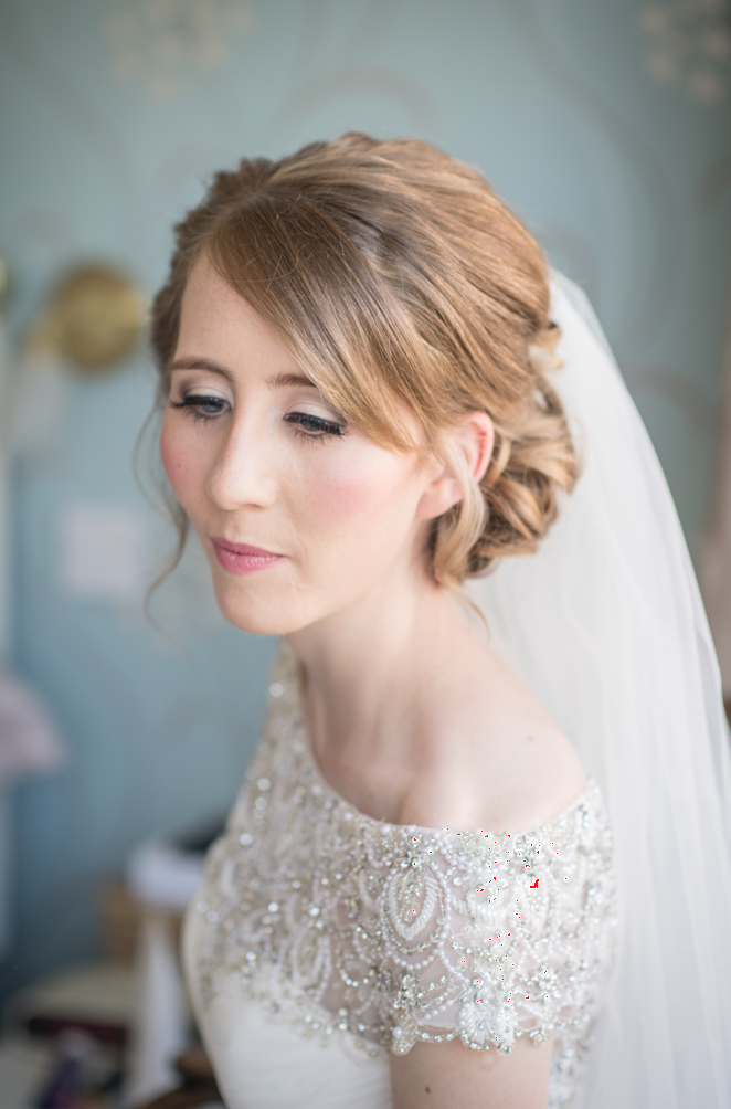 Normal image of bride straight from camera