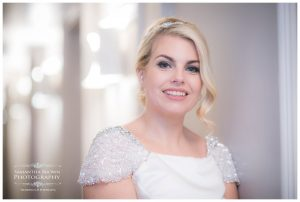 Bride at the Vincent hotel Southport