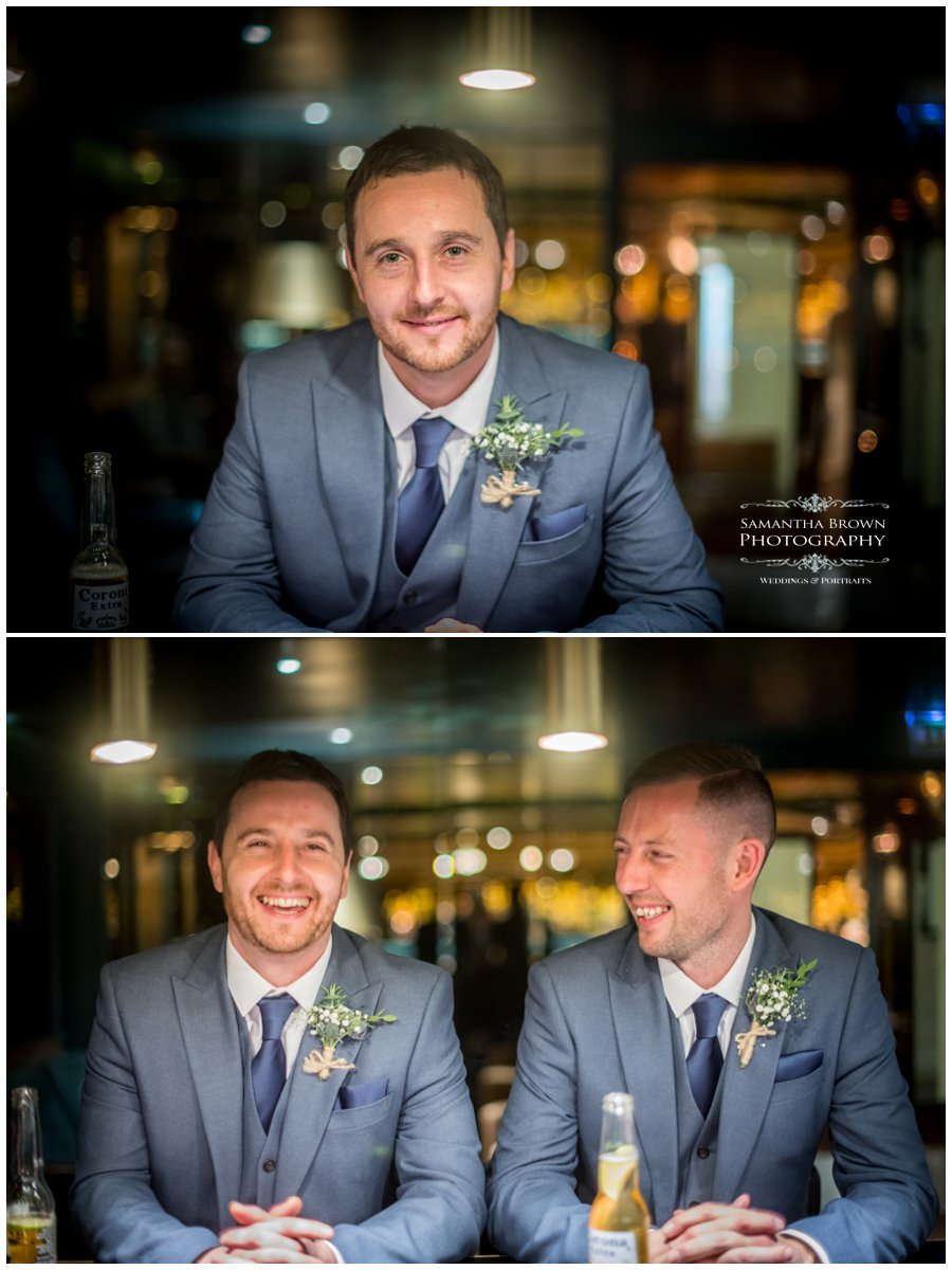 Vincent Hotel Wedding Southport - Groom