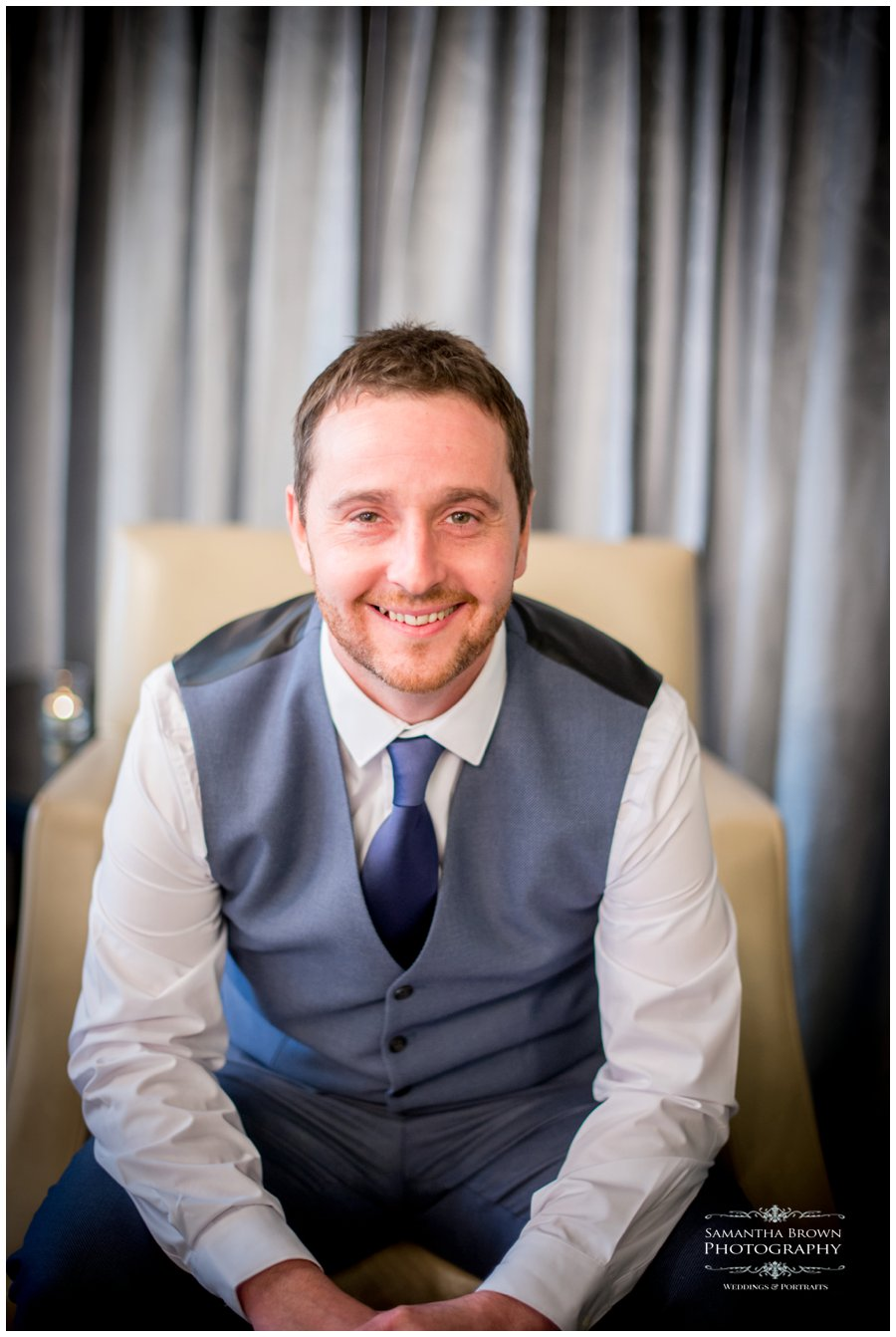 Groom at vincent hotel southport