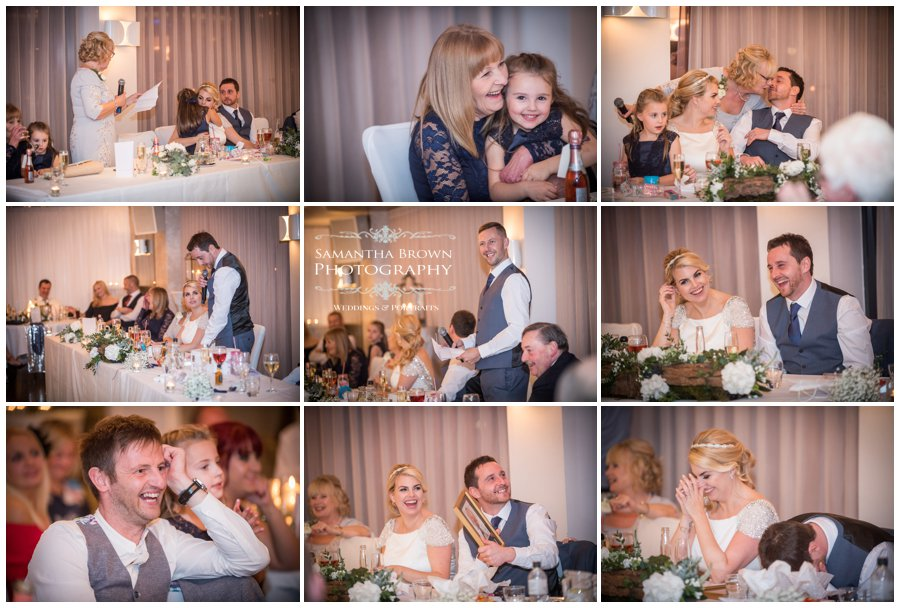 Vincent Hotel Wedding Southport - Speeches